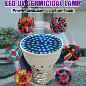 AC 110V / 220V Led UVC Germilling Pulple, E27 E14 MR16 GU10 B22 UV Desinfection Lamp, LED Sterminizer Lamp, UV Germital Sanitizer Light 123