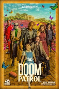 "Doom Patrol Poster Jeremy Carver DC Universe Season 2 TV Series Art Print 27x40"""