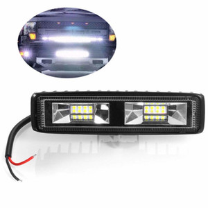 Barre de faisceau de lumière d'inondation d'énergie de travail de 48W LED outre de la route conduisant la barre lumineuse de véhicule d'USB de lampe de brouillard d'entraînement