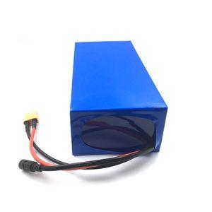 Freies Verschiffen Qualitäts-Li-Ionenbatteriesatz 1kw 52V 20AH Lithium-Ionen 18650 Batterien für 750W 1KW 1.5KW Motor + Aufladeeinheit