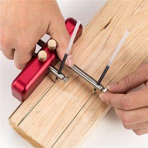 Freeshipping réglable trusquin Travail du bois en alliage d'aluminium en bois Scribe mortaise Gauge bricolage Travail du bois Traçage outil