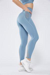 TSLA Loungewear 21 polegadas Capri Comfy macia Lazer Red Yoga Run Pant Yoga Casual ativo com bolsos