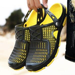 Breathable Men Sandals Summer Men Shoes Outdoor Slippers Beach Sandals Male Casual Shoes Man Comfort Water Flip Flops