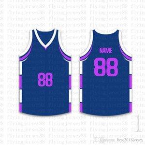 Top Basketball personnalisés Maillots Hommes Broderie Logos Livraison gratuite Jersey Cheap de gros noms de tous un nombre Taille S-XXL 625