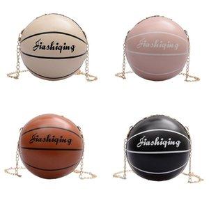 Le donne di modo delle signore di pallacanestro a forma di spalla Borsello in pelle PU Tote Bag borsa Messenger Satchel