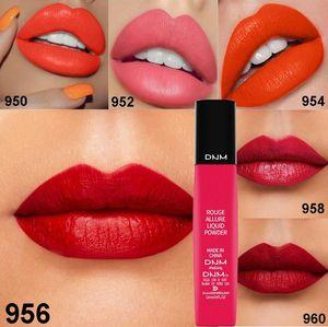 Sexy 6 colors brand matte women lipsticks long lasting rouge allure liquid makeup lip gloss 12ml