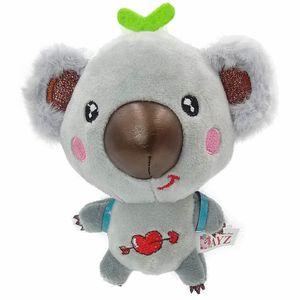 Kawaii Mini Koala Pendant Chaveiro Plush Toys Bichos de pelúcia macio bonito Koala boneca crianças Menina do aniversário Xmas CheapToys presente