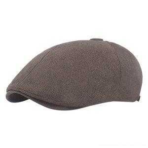 2019 Summer Beret Caps For Men Women Vintage News Boy Cap Cabbie Linen Outdoor Hats & Caps Hats, Scarves & Gloves Hats Brand Sun Hat Unisex
