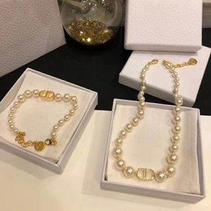 Лучших продажи классического письма жемчуг дикого моды набор дизайнер ювелирных рынк жемчужного дизайнер ожерелье