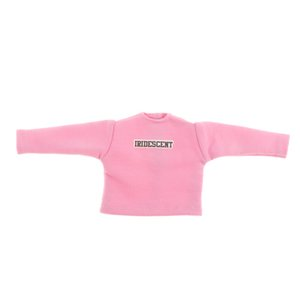 Printing Yellow Pink Long Sleeve Hoodie For Blythe Doll T-shirt Accessories