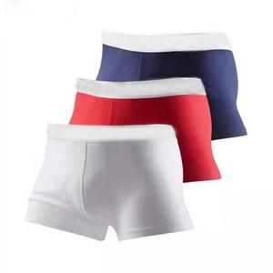 Blanc Band Nouveau Hommes Boxer Shorts Sous-vêtements sexy pour hommes Caleçons Jeune doux coton confortable pénis célèbres Boxer Shorts Underpants