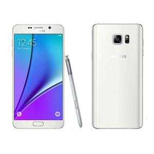 Original Samsung Galaxy GALAXY Note5 Nota 5 N920A OctaCore N920T 4 GB RAM 32 GB ROM Android5.1 5.7 polegadas 3000 mAh 4G LTE Refurbished Smartphone