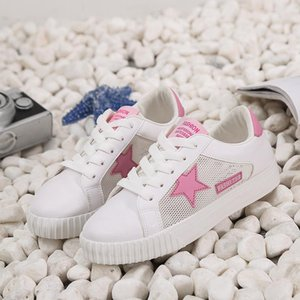 Summer women's board shoes foreign trade big code hollow casual small white trend star shoes burst women's shoes