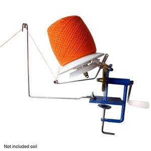 Herramienta de bola giratoria Mini Tabla Hilo Cadena Manual de crochet manivela Low Noise Accesorios máquina de bobina del hogar