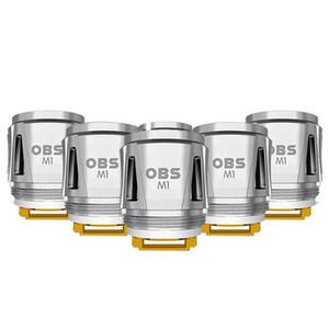 Глава Аутентичные OBS Куб катушки M1 Mesh Катушки 0.2ohm Сопротивление Драко Кубик Starter Kit E Cigarette Vaping бак DHL Free