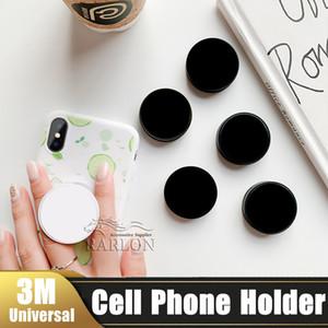 Atacado Universal Cell Phone Holder Com OPP Bag real cola Punho expansível stand de 360 graus Suporte dedo flexível para iPhone Samsung