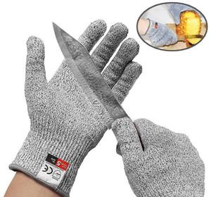 Перчатки тактические защитные HPPE Антикоррозионная перчатка из металла 5 Защита для рыбалки на открытом воздухе, охота, износостойкие варежки, перчатки из курицы