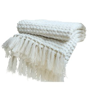 Blanket Knitted Style, Year-Round Gifts Indoor and Outdoor Travel, Sofa, Recliner, Living Room, Bedroom Decoration