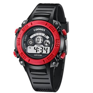 Children Outdoor Sport Watch Led Digital Watches Boy Girl Unisex Wristwatch Kids Children Christmas Gift Watches
