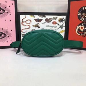 Otantik kaliteli kadın tasarımcı lüks çanta çantalar hakiki deri Bel Çantaları bayanlar marka klasik moda çantalar 18x11x5cm Ücretsiz Kargo