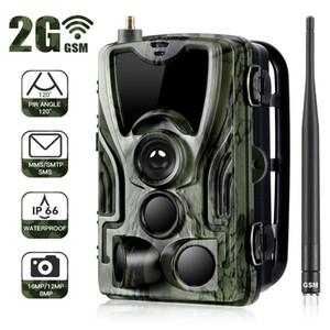 ZREN HC-801m Hunting 2G caméra Trail SMS caméra / MMS photo Piège chasseur sauvage jeu garde fantôme cerf alimentation