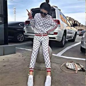 gucci sportswear s Feminina2020 New Frühlings-lange Hülsen-Druck hococal Frauen Blusen und Tops Harajuku Street Shirts Kleidung