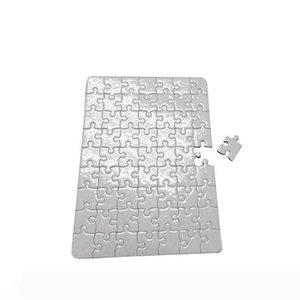 carta di puzzle del puzzle in bianco per carte da stampa trasferimento fai da te di calore di puzzle formato A4 per i bambini fai da te White Trasferimento termico perlescenti