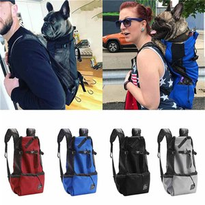 Breathable Dog Bag Large Pet Backpack Carrying Pet Cat Dog Backpack Bag Puppy Outdoor Hiking Carrier Mochila Perro 50JULY17