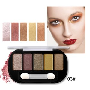 Shimmer Matte Charming Eyeshadow 5 Colors Eye shadow Palette Make up Palette Pigmented EyeShadow Fashion Color