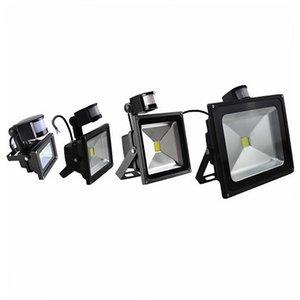 Luzes de inundação de sensor de movimento conduzidas ao ar livre, lâmpada de indução PIR, luz inteligente, lâmpada de sentido idetective LED luzes de paisagem holofote