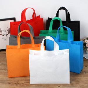 Non tessuto di protezione ambientale di alta qualità borsa Pubblicità regalo Shopping Bag Istruzione Abbigliamento Pubblicità scarpe Logo casella personalizzata