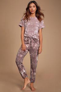 Dhl Free For Pajamas Tiedye For Female Pyjama Korte Sets Met Ronde Hals En Tie-Dye Vintage Tie Dye Electric Green nice garden2010 fzQCG