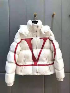 Veste femme vers le bas Parkas en vrac court hiver vêtements de plein air chaud épais 2019 nouveau costume de ski authentique européen style anglais Monca capuche 62B