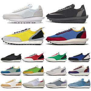 Дешевая LDV вафельных кроссовок для мужчин Женщины белого нейлона серого сосна Зеленый Gusto Varsity Синего мужского Тренажёры Спорт кроссовок Размера 36-45