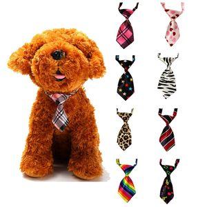 1Pcs Pet Necktie Cute Pet Teddy Adjustable Bow Tie Necktie Collar Lovely Dog Cat Puppy Pets Accessories