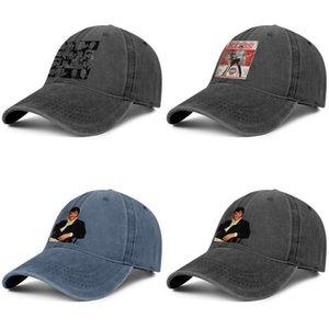 Elvis Presley Figure 1969 mens and women trucker denim cap cool designer custom personalisedblank fitted stylishcute hats in Tickle The