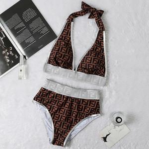 2169#2019 DesignerSwimwear Women Sexy Bikini Luxury Swimsuit Ladies Beach BrandBikini Swimwsuit HOT 2-piece Swimwear Bikini Suit 2020553K