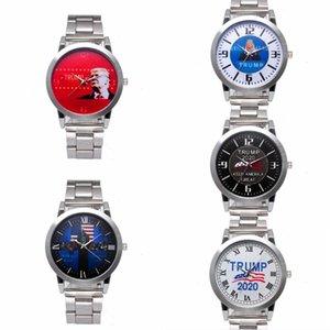 DHL Shipping Quartz Wristwatch Trump 2020 Wrist Watches for Men Women Stainless Strap Watch Fashion Retro Unisex Watches X183FZ