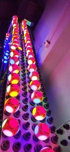 Calcio UFO della lampada di CA 85-265V LED Super Bright LED pieghevole E27 40W LED lampadina della sfera della bolla Lampadina pieghevole Sostituire Luce alogena zdl0326.