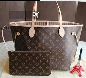 NEWEST 패션 원래 명품 핸드백 명품 가방 숄더 토트 클러치 백 PU 가죽 지갑 숙녀 여성 가방 지갑