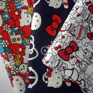 90 * 140 centímetros patchwork animados da vaquinha de lona tecido de algodão tecido para Tissue crianças saco de sapato materiais artesanais DIY