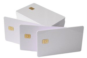 500 adet IC kart, akıllı kart, çip 4442 kart, iletişim ic kart, tüketici sistemlerinde yaygın olarak kullanılan