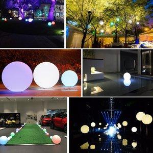 Бесплатная доставка солнечные светодиодные открытый водонепроницаемый шар-образный свет партии прополка двор бар декор
