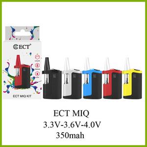 Le moins cher boîte à huile épaisse Kit ECT MIQ batterie de 350mAh de tension variable 3,3V-3,6V-4,0V avec des cartouches de céramique Vape 0.5ml gros usine