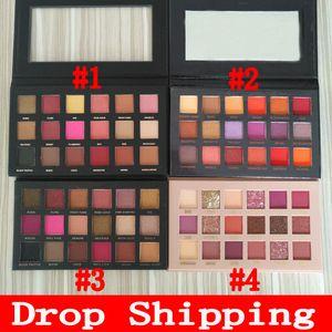 Dropshipping Eyeshadow Palette Beauty 18 cores sombras paleta epacket frete grátis