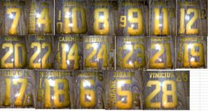 2019-2020 Главная BALE Asensio Опасность Sergio Ramos Kroos Marcelo M0rata Vinicius Modric Isco Nameet Patch Badge