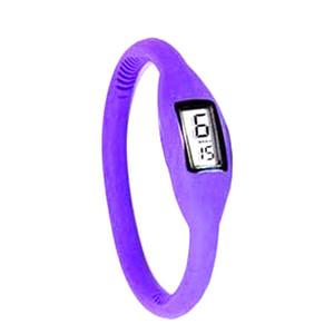 Watches For Women 16 Sports Wrist Bracelet Watch Men Women Digital Silicon LED Watch