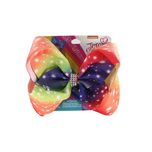 2020 inch jojo siwa girls hair clips Love crystal jojo siwa bows girls barrettes baby BB clips designer girls hair accessories B1220