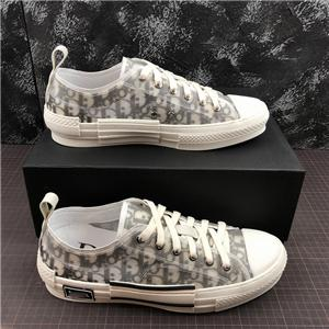 Dior b23 shoes Versand hococal hohe Qualität 19SS Blumen technische Leinwand B2 B24 schräge Herren-Marke High-Top Sneaker B2 Marke Designer-Schuhe Damen