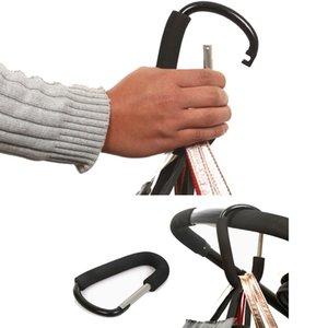 Mummy Practical Baby By Clips Large Pram Pushchair Shopping Bag Hook Mummy Carry Clip Foam handle light Durable Aluminium